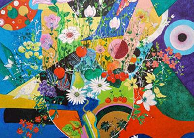 11 - Senteurs d'un bouquet de fleurs et de fruits de printemps